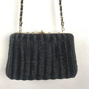 Vintage Waves by Tandem Bags Basket Weave Purse